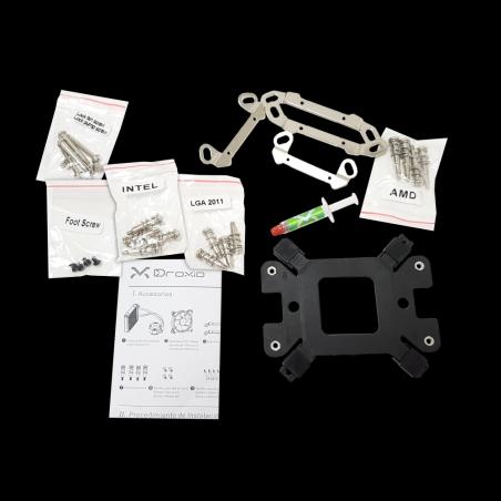 Todo lo que necesitas para el correcto montaje de tu nuevo ventilador Droxio. Solo para #eSportsLovers
